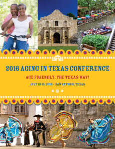 2016 Aging in Texas Conference Banner